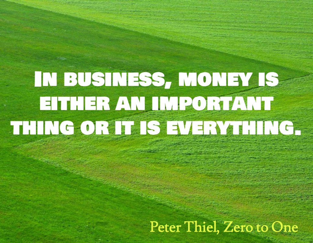 Peter Thiel on Business