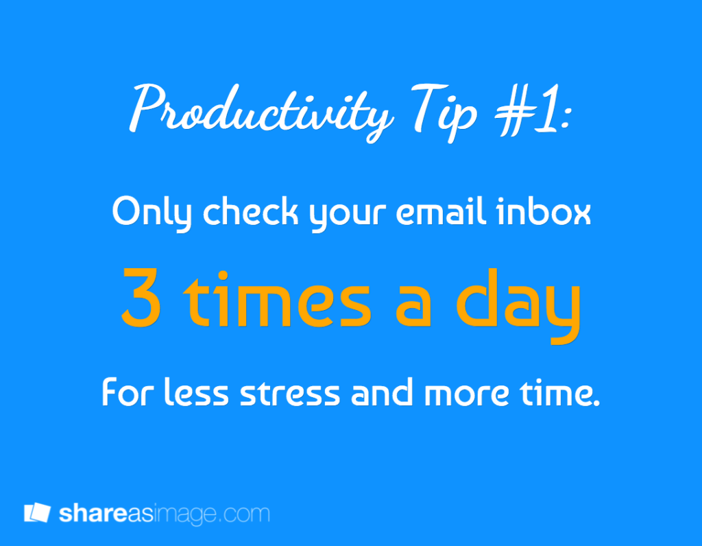 5 Simple Ways To Get More Productive (In Less Than The Time It Takes To Shower) - Stencil