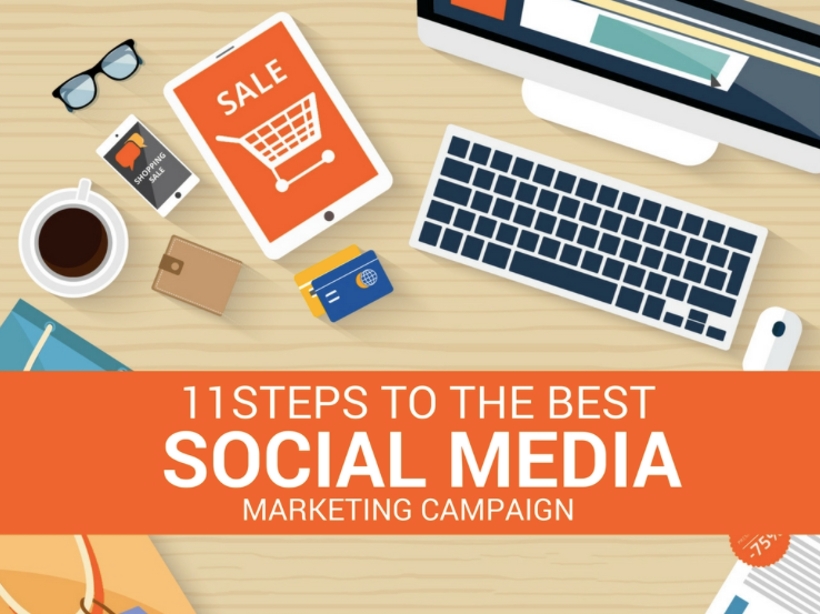 11 Steps to the Best Social Media Marketing Campaign via Rebekah Radice