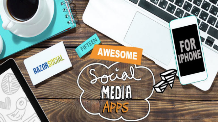 15 Social Media Apps for iPhone via Razor Social