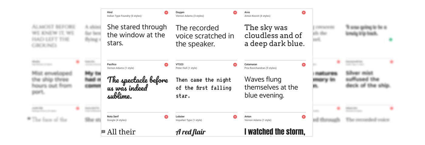 Stencil Google Fonts