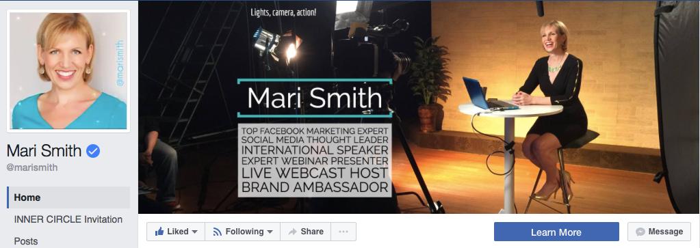 Mari Smith Facebook Page