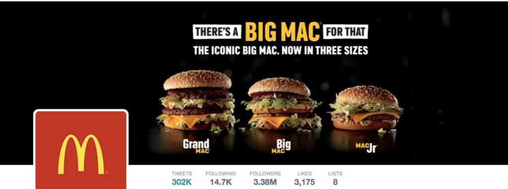 mcdonalds twitter cover