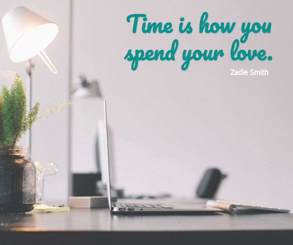 time is how you spend your love