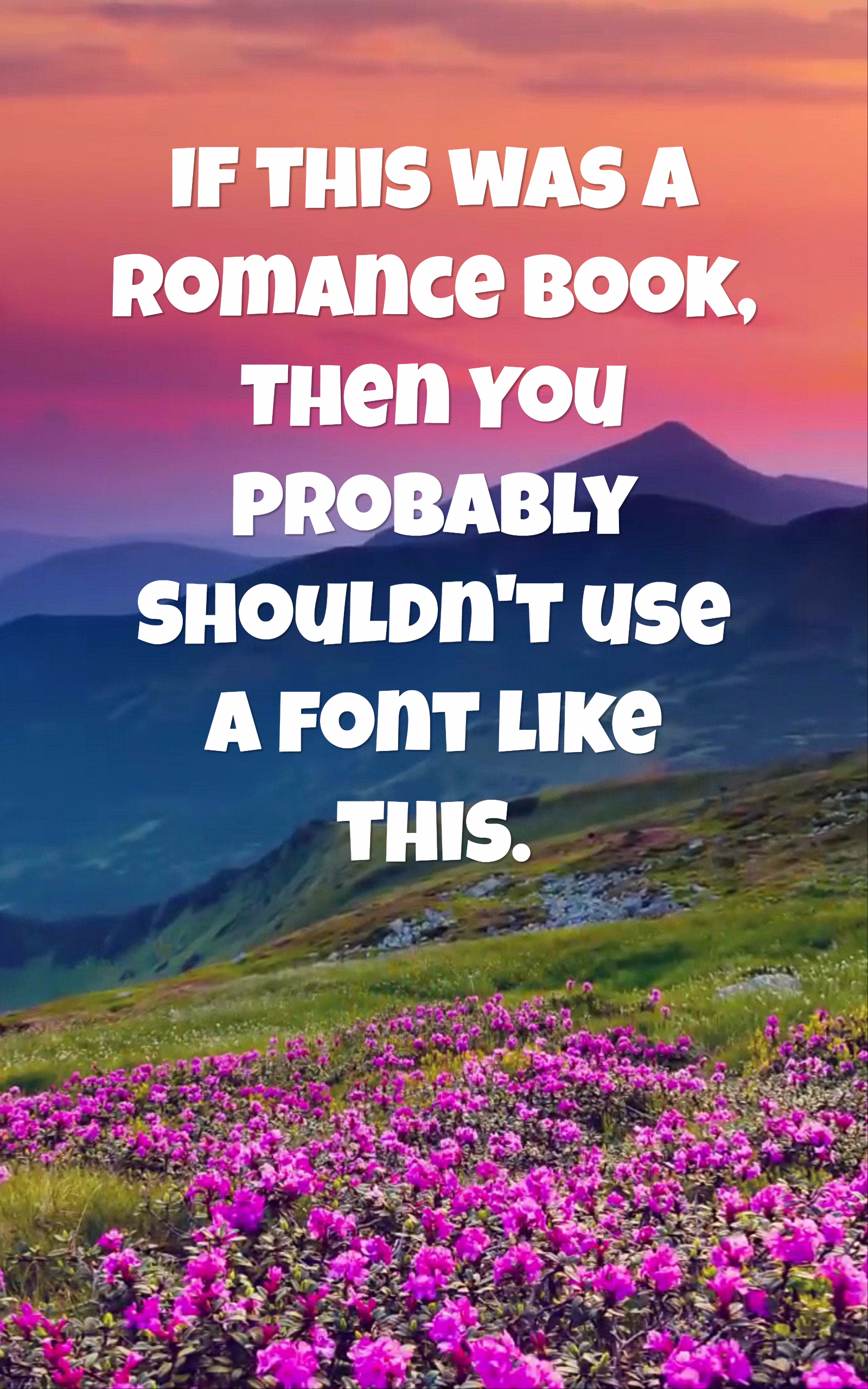 Romance Book Cover Fonts : How to design a book cover for ebooks stencil