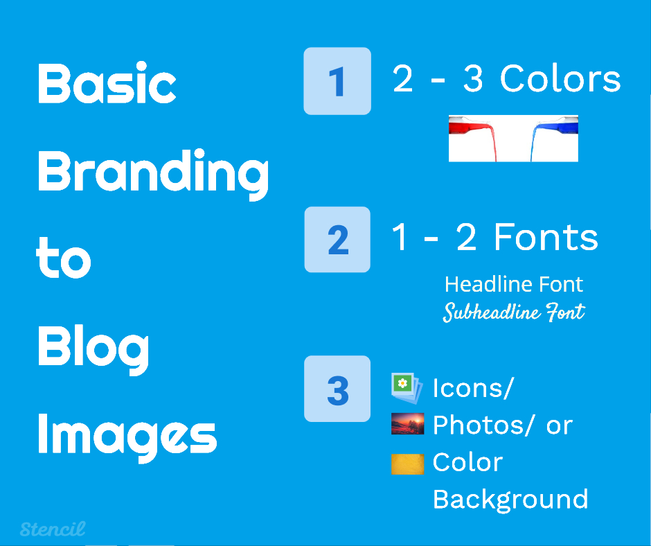 Basic Branding to Blog Images