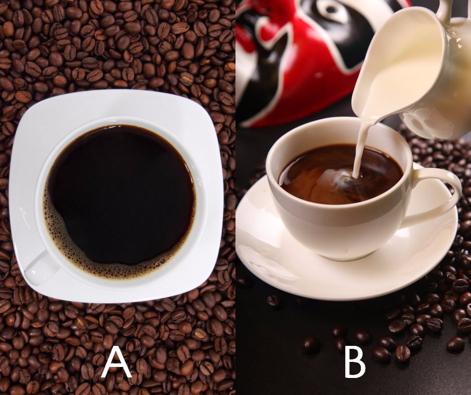 Choose your coffee - A or B