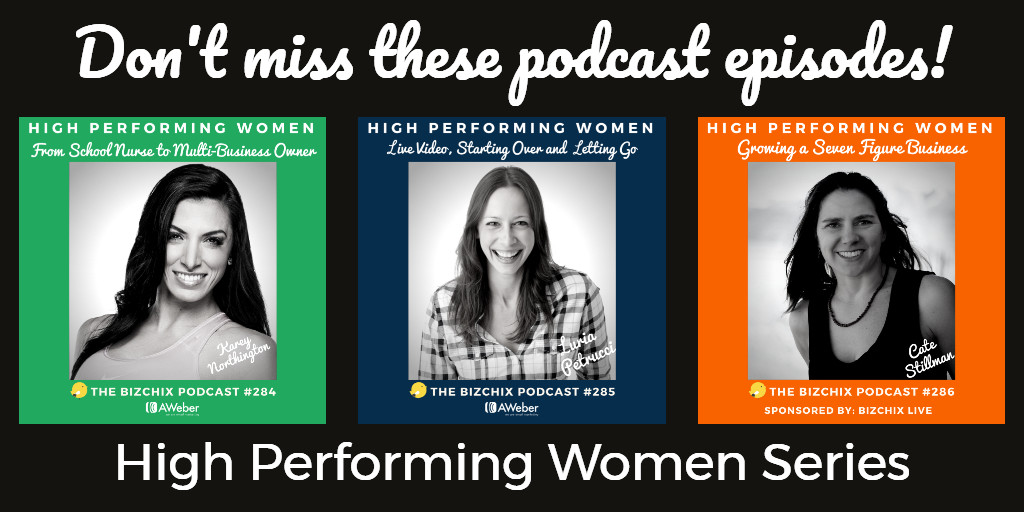 High Performing Women Series Image for Twitter
