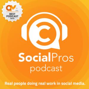 social pros podcast thumbnail