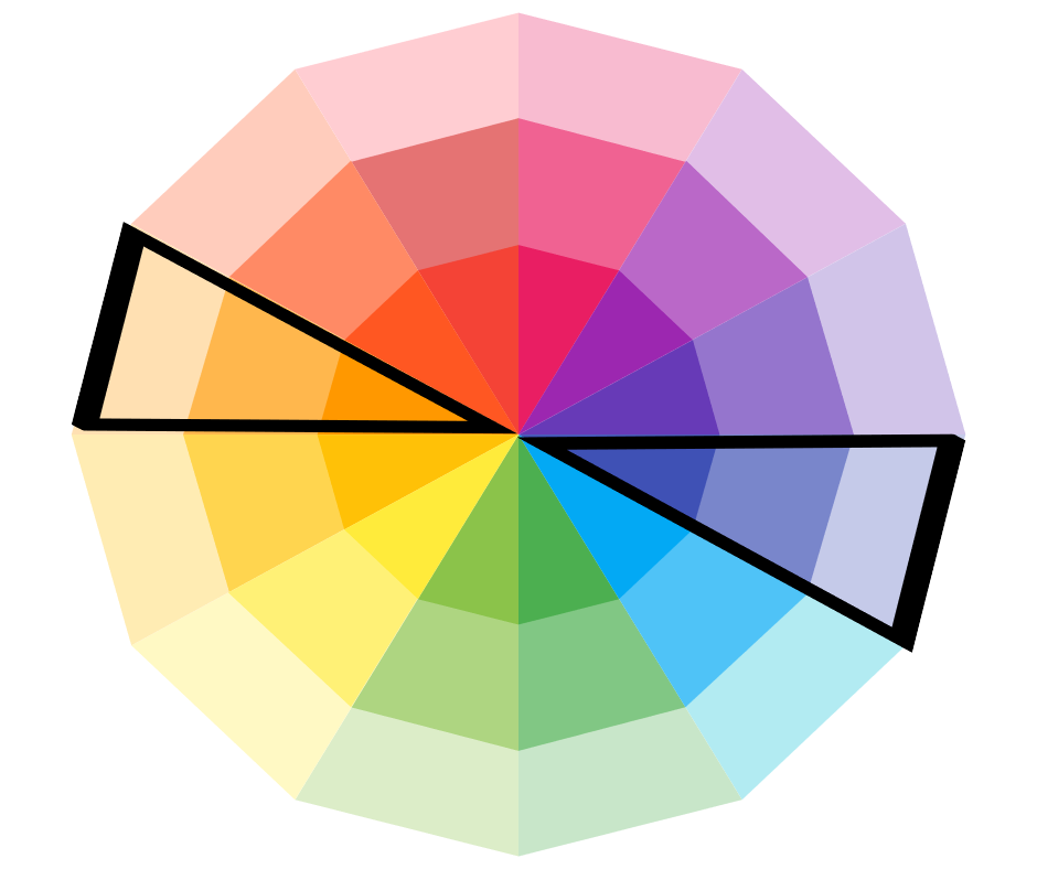 Color Wheel Picking A Complementary Color Stencil