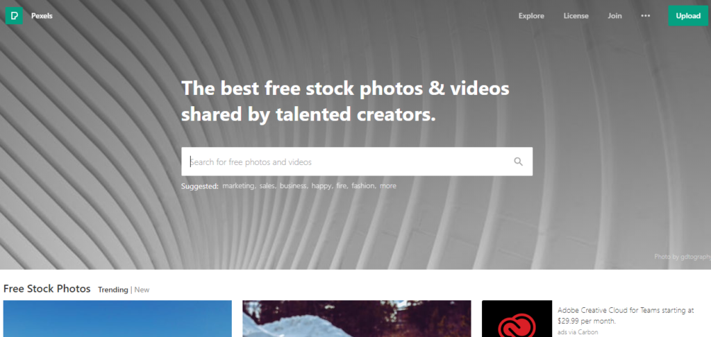 pexels among the best free stock photo sites