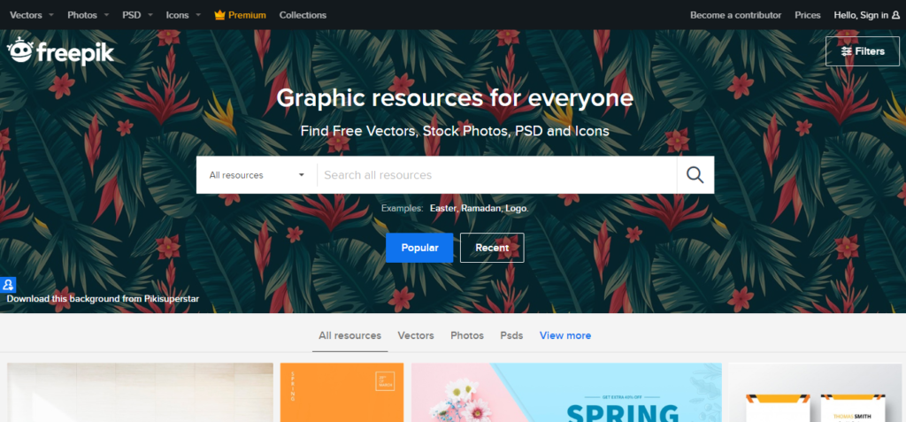 use freepik to find stock photos and vectors