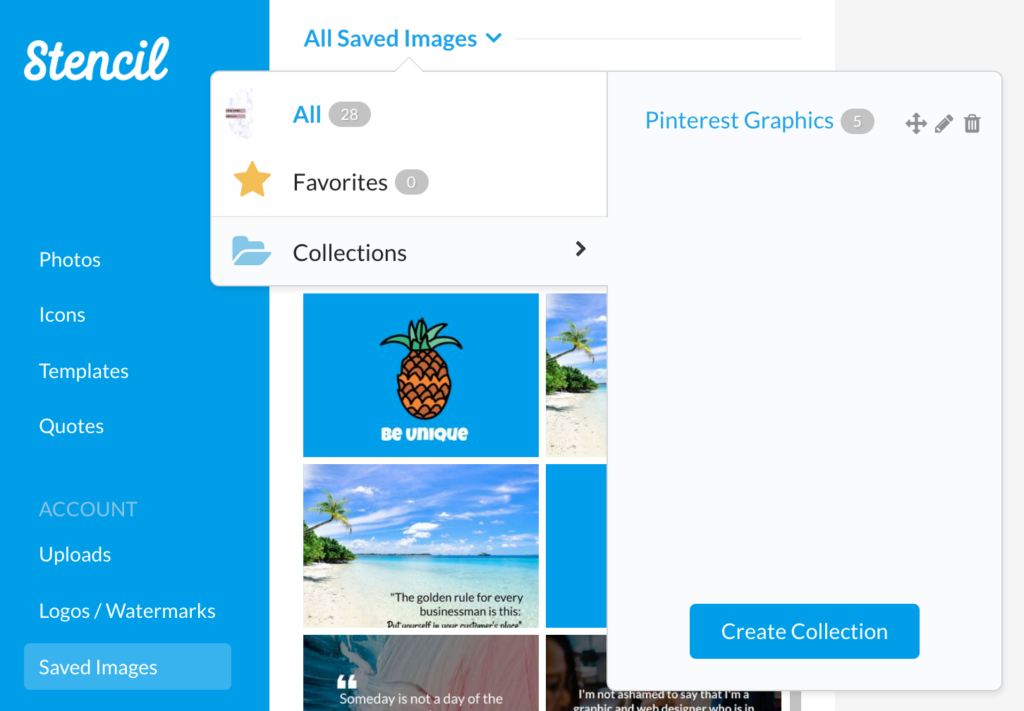 Learn how to organize your images in various collections to find what you need quickly and with a few edits, you'll be on your way.