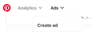 Pinterest Ad Screen