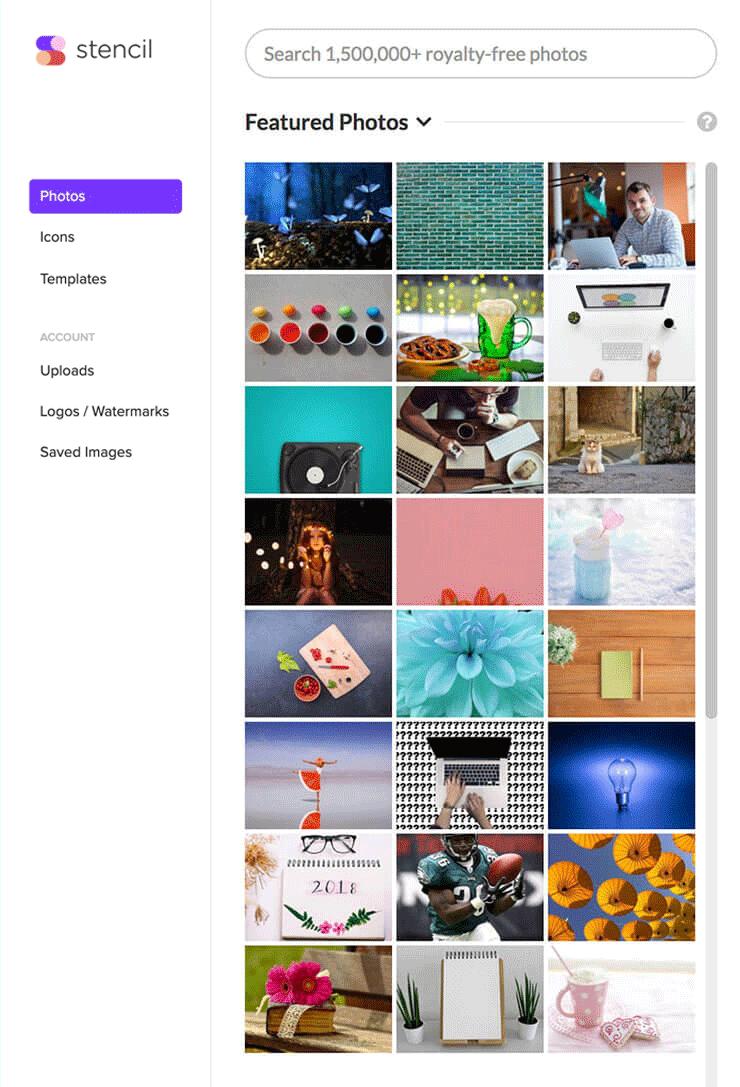 The Web S Favorite Online Graphic Design Tool Stencil