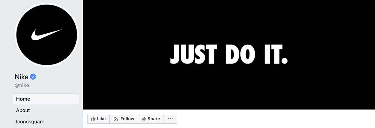 Nike Facebook Cover