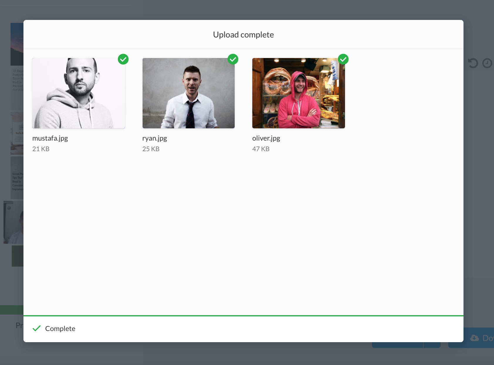Import images & photos from Google Drive into Stencil